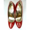 Toria Blanic 190  czerwone lakierowane czólenka