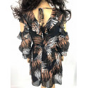 Sukienka SALMA z motywem wężowym