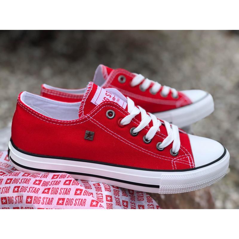 Trampki  szkolne buty damskie młodzieżowe Big Star sportowy styl 621