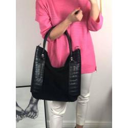 Skórzana torebka na ramię Oryginalna Color LEATHER