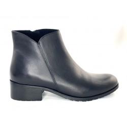 SZTYBLETY damskie czarne botki Clasicco 1502
