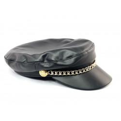 Czapka czarna ze szczęką bawełniana MONSTER HAT POLAND