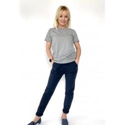 Spodnie dresowe  fioletowe damskie Classic
