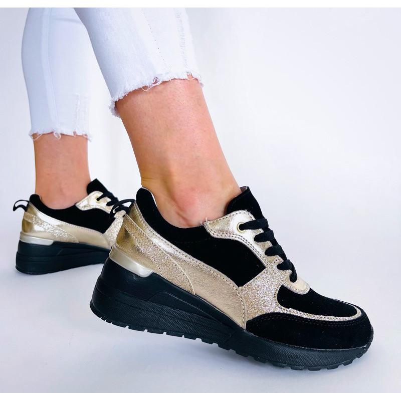Sneakersy białe ażurowe skórzane Comfort FT-89