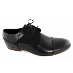 Lavaggio 1010 granatowe męskie pantofle