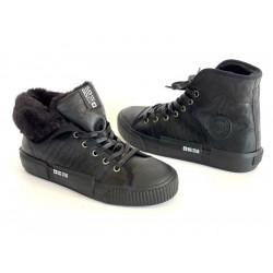 Sneakersy czarne buty damskie Big STAR 274311