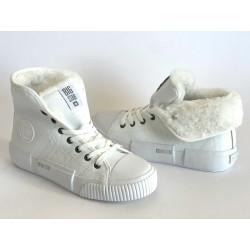 Sneakersy czarne buty damskie Big STAR